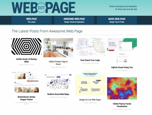 Announcing the Launch of WebDOTPage