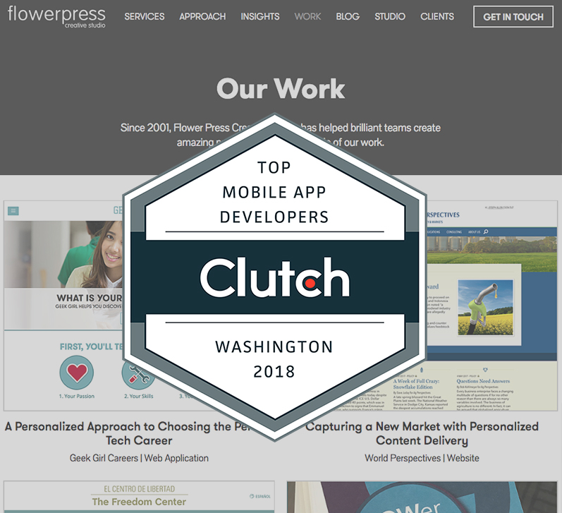 Flower Press Creative Studio Named a Washington Tech Leader!